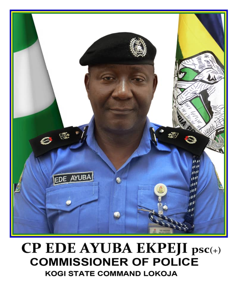 The State Commissioner of Police, Ede Ayuba Ekpeji (PSC)