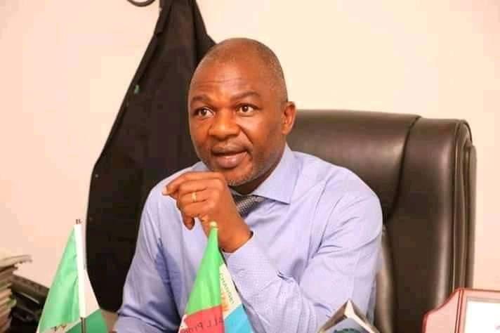 Chairman House Committee on Education and member representing Kokona constituency Hon Daniel Oga Ogazi