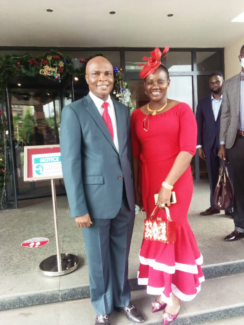 Barr. Ken Immasuagbon and his lovely wife