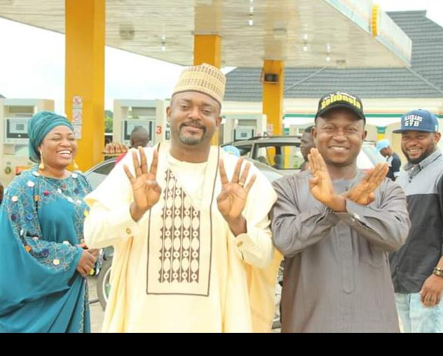 His Excellency, Chief Edward David Onoja, Deputy Governor of Kogi State and Rector Kogi State Polytechnic Lokoja, Dr. Salisu Ogbo Usman